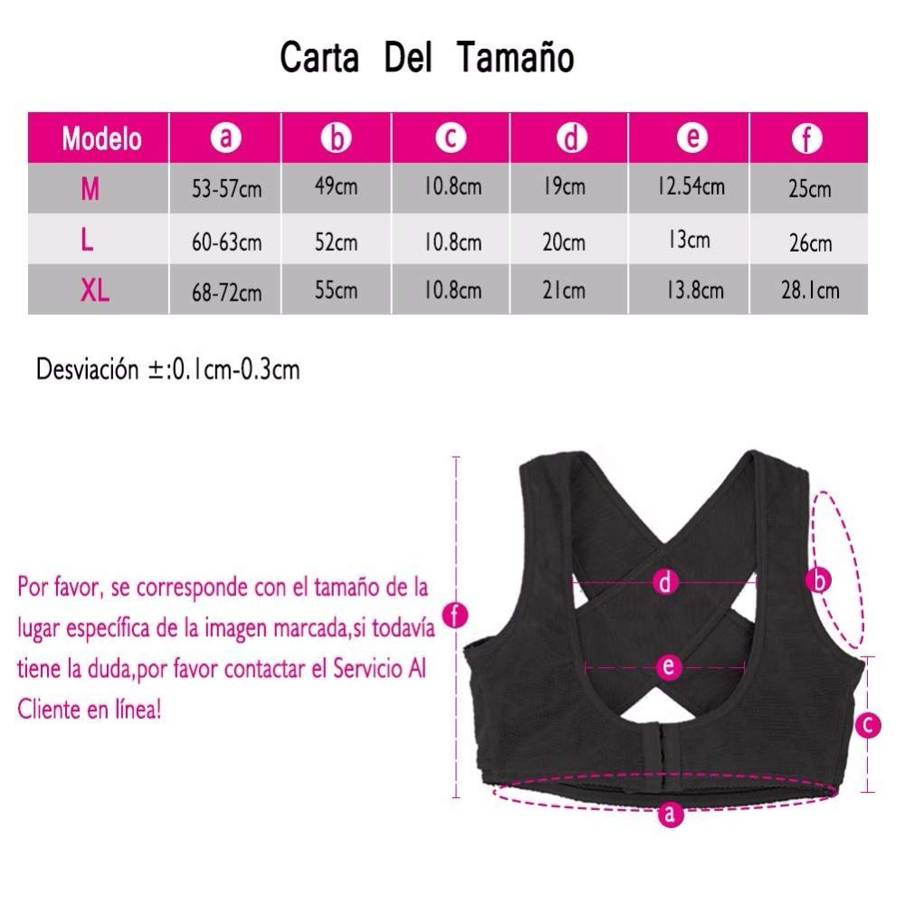 92f1b115f Amazon.com  Love Environment Adjustable Lady Chest   Back Support Corset  Belt Posture Corrector Brace Band Body Sculpting Strap Breast Bra Shoulder  Bandage ...