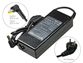 90W Alimentador Cargador Notebook AC Power compatible con Packard Bell Easy-Note MX37-U-005 MX37-U-041 MX45 MX45-T-053 MX52 NM85 NM86 NM87 NM98 NX86, ...