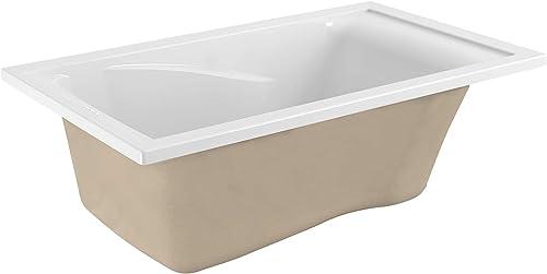 American Standard 2422V002.020 Evolution Acrylic 60-Inch X 32-Inch Drop-In Deep Soak Bathing Pool