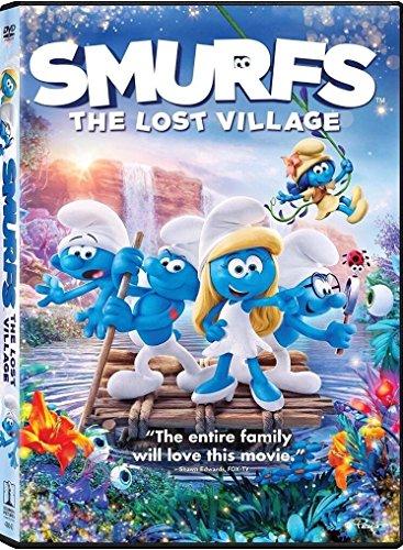 Smurfs: The Lost Village (DVD 2017)