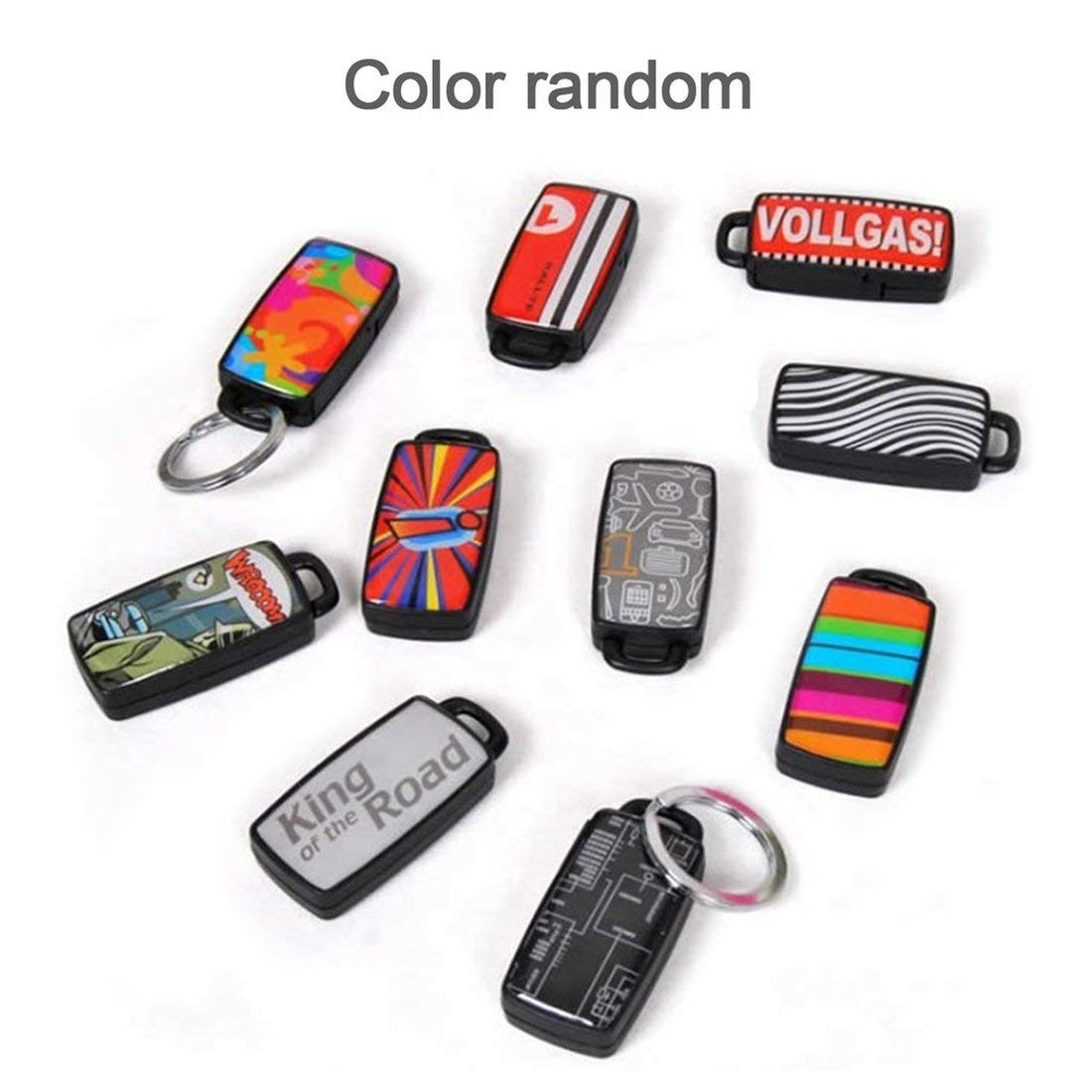 Stylish Whistle Key Finder Beeping Sound Alarm Portable Electric Keyfinder Locator with Keyring Anti-Lost Device Formulaone