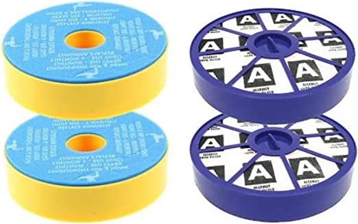 First4spares Kit de filtros premotor lavables y filtros posmotor ...