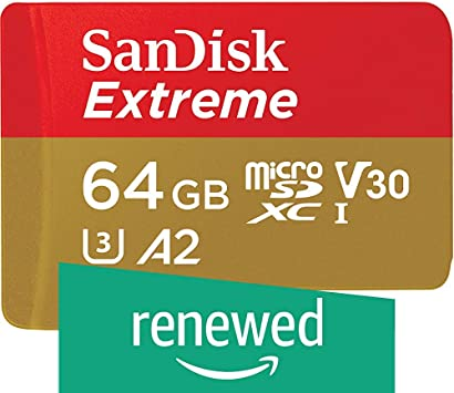 Amazon.com: SanDisk Extreme microSD UHS-I Card with Adapter ...