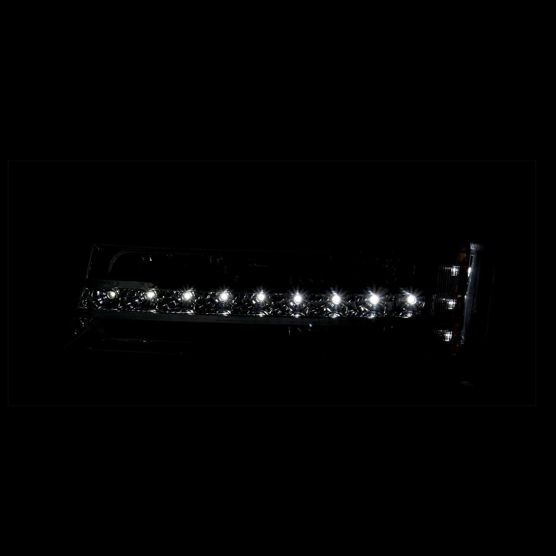 Anzo USA 511067 Black LED Signal Light for Chevy Silverado