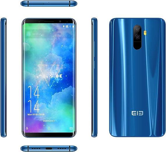 ELEPHONE U 4 G Smartphone entsperrte de la pantalla Curved Android ...