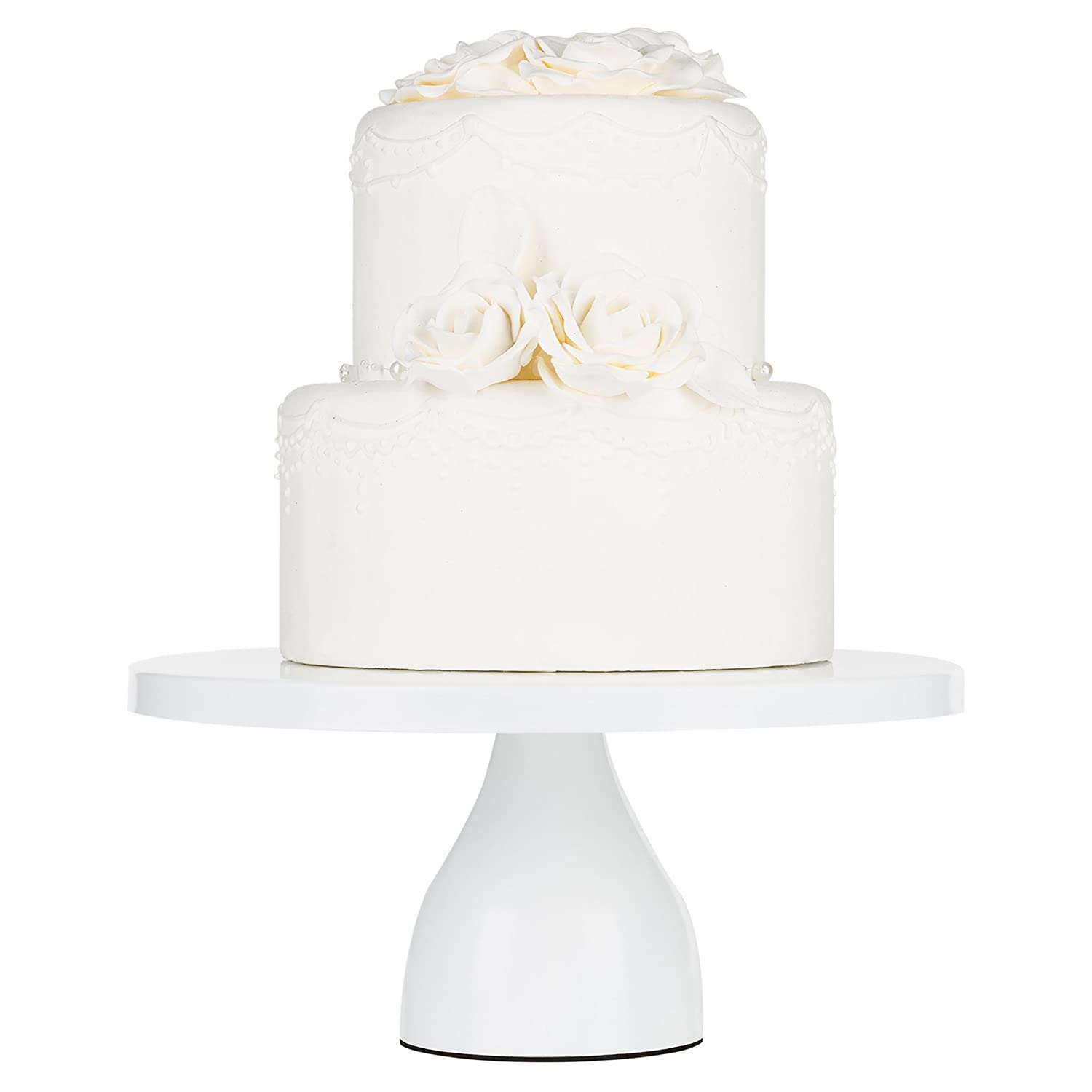 Amazon Com Jocelyn Collection Inch White Cake Stand Modern