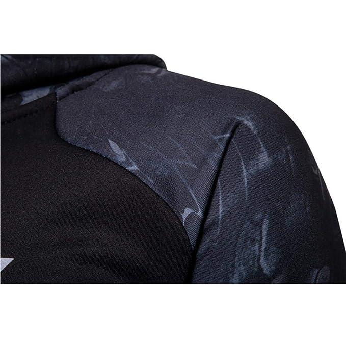 ZODOF Vistiendo una Hermosa Camiseta de Manga Larga Mens Fitness Manga Larga Bodybuilding Skin Tops Sudadera con Capucha Sudaderas Blusa: Amazon.es: Ropa y ...