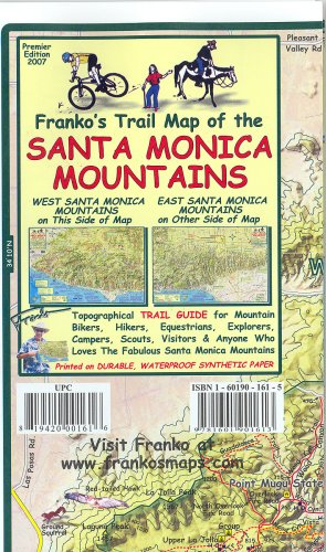 Franko's Trail Map of the Santa Monica - Outlet Santa Monica