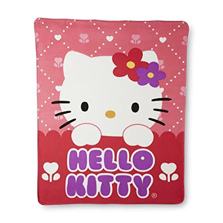 Pink Hello Kitty Fleece Throw Blanket For Naptime Or For A Wall New Hello Kitty Fleece Throw Blanket