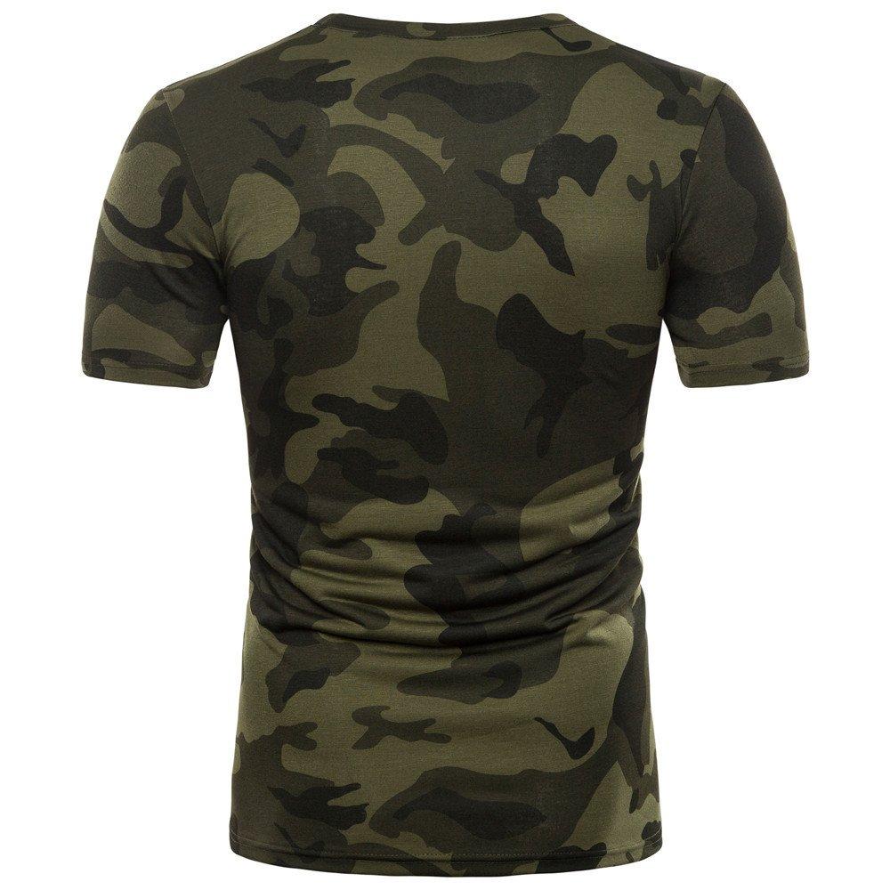Camiseta de Camuflaje Hombre Militares Camisetas Deporte Ropa ...