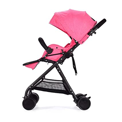 ZHAOJING Los cochecitos de bebé pueden sentarse reclinable ...