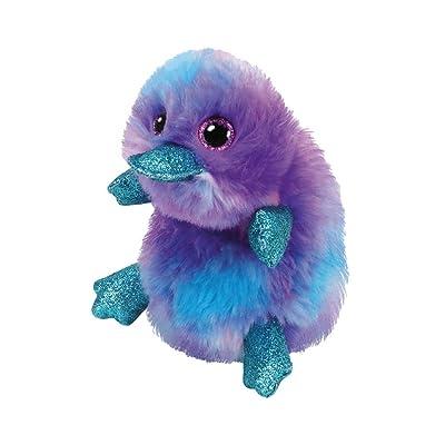 Ty 36275 Beanie Boos 15 cm Cuddly Toy, Lila,Blau,türkis: Toys & Games