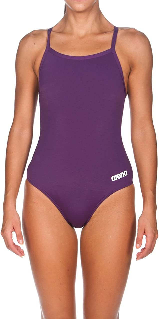 Arena Womens Master MaxLife Sporty Thin Strap Racer Back One Piece