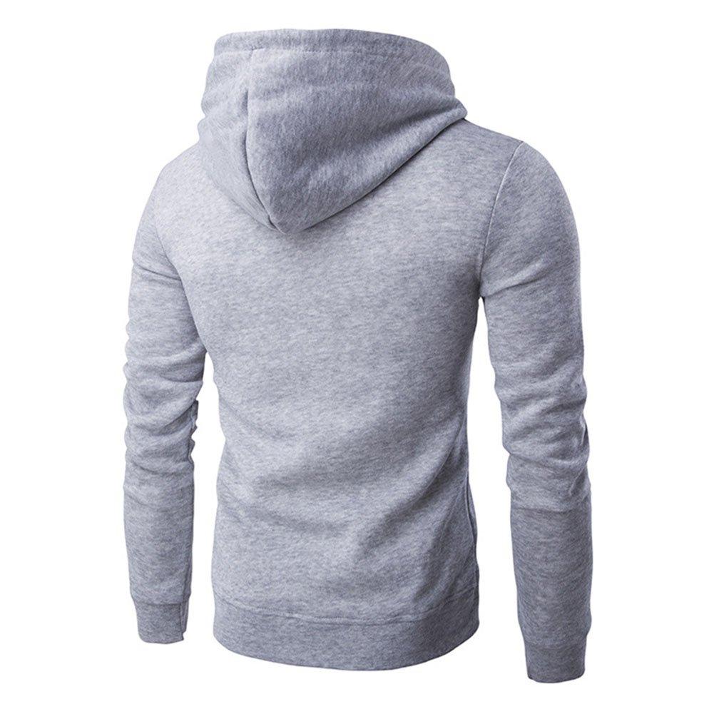 Katesid Mens Boys Casual Athletic Zip Hoodie Sweatshirt Jacket