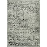 Cheap Safavieh Vintage Collection VTG113-2111 Transitional Oriental Spruce and Ivory Area Rug (4′ x 5'7″)