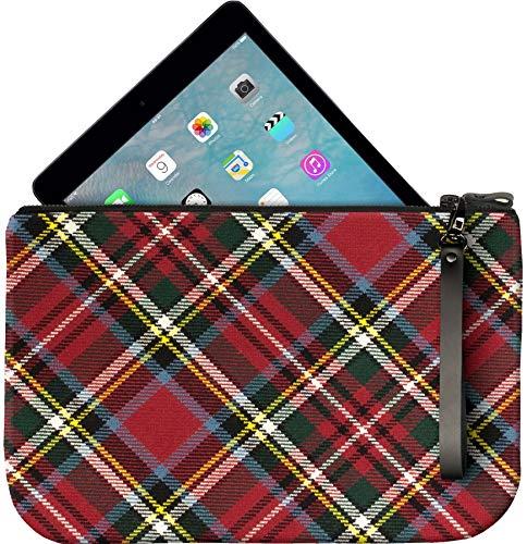 Tartan Charlie Bag Leather an Medium Bonnie With Prince Fits iPad Clutch H0wYnPO