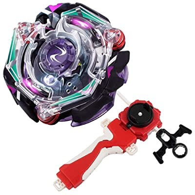 Bey Burst Evolution Turbo Battling Top Blade God Bey with Lr Launcher Grip Spryzen Starter Set B-74 Booster Kreis Satan.2G.Lp Attack Gyro Bay Battle Kit Gaming Tops Novelty Spinning Toy Gift for Boys: Toys & Games