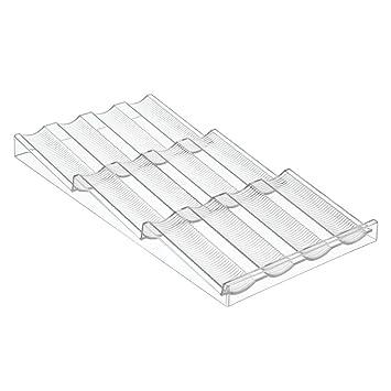 schubladen organizer kche interdesign x x cm linus fr kche with schubladen organizer kche. Black Bedroom Furniture Sets. Home Design Ideas