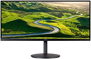 """Acer Nitro XV340CK - 34"""" Monitor UWQHD 3440x1440 IPS 144Hz 1ms 250Nit (Renewed)"""