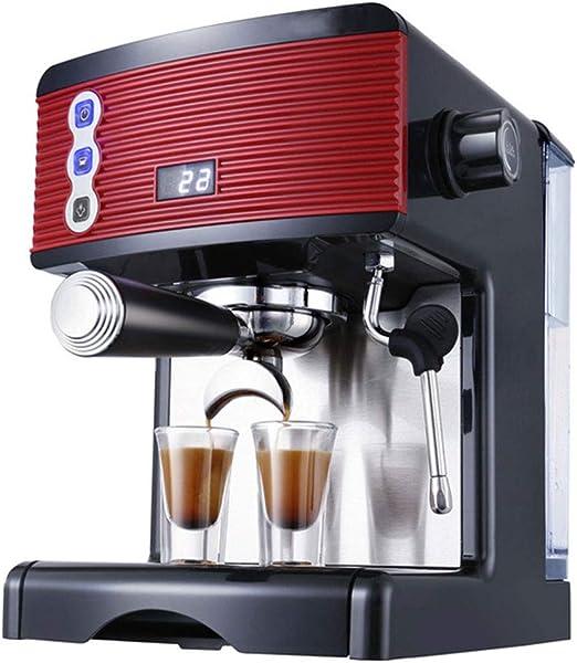 HANTY Cafetera, cafetera Espresso con Espuma de Leche, perillas de ...