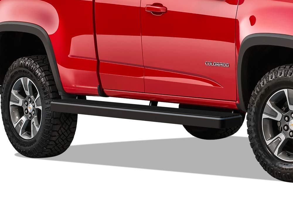 Wheel To Wheel Running Boards >> Aps Wheel To Wheel Running Boards 6 Inch Custom Fit 2015 2020 Chevy Colorado Gmc Canyon Crew Cab 6ft Bed Pickup 4 Door Nerf Bars Side Steps Side