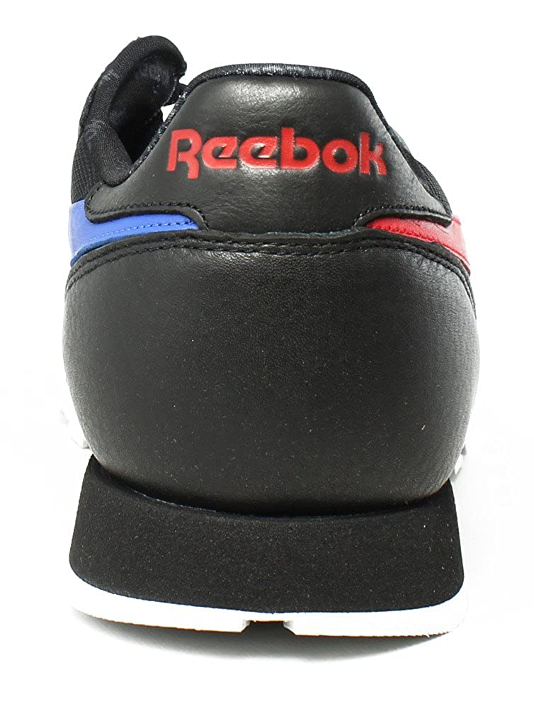 e8f2ce01779 Reebok Lifestyle Men s Classic Leather SO Black White Light Solid Grey Vital  Blue Primal Red 12.5 D US  Buy Online at Low Prices in India - Amazon.in