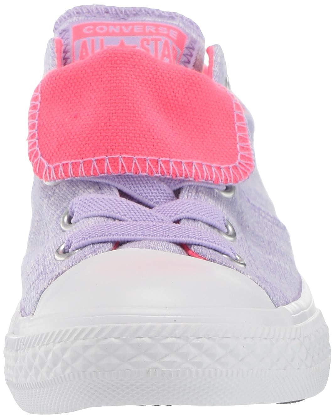 Converse Kids Chuck Taylor All Star Maddie Pop Canvas Slip on Sneaker