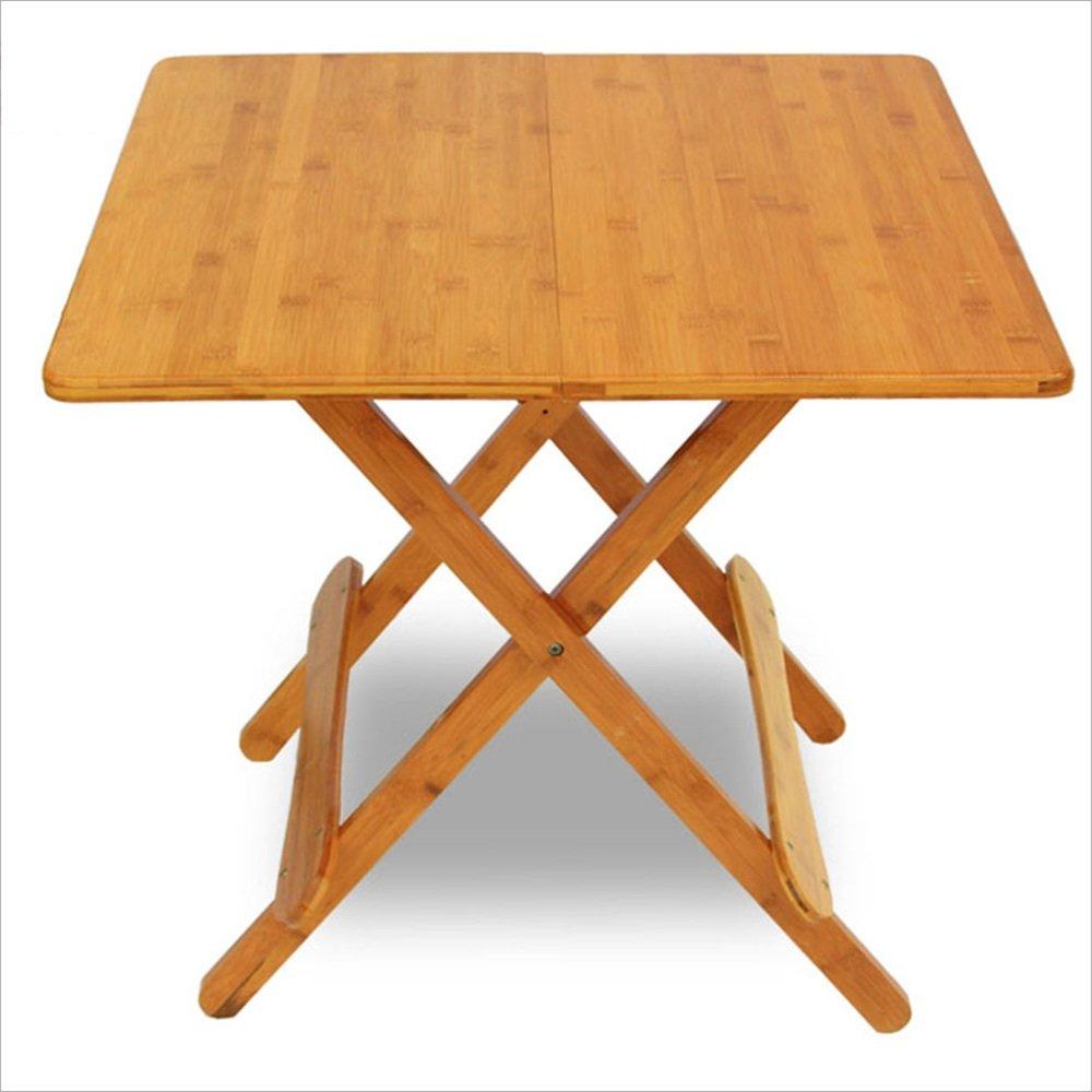 NAN スクエアソリッドウッド折りたたみテーブル、室内読書スタディテーブル、リビングルームテーブル ワークベンチ (サイズ さいず : 70cm) B07DZF3QXP 70cm 70cm
