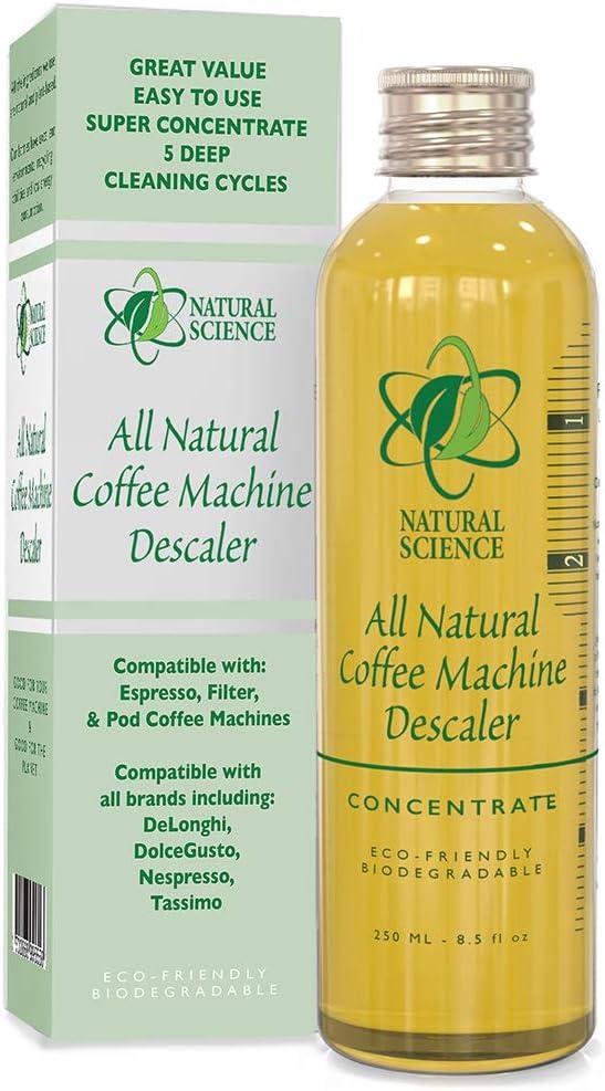 Máquina de café descalcificador natural limpiador - poco olor ...