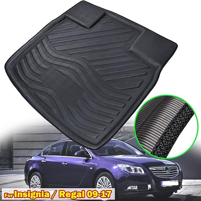 2013-2017 Rey Alfombrillas/® PVC Cubeta Maletero Opel Insignia Sed/án