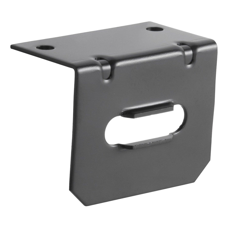 Curt 58300 Connector Socket Mounting Bracket Automotive 4 Way Flat Wiring