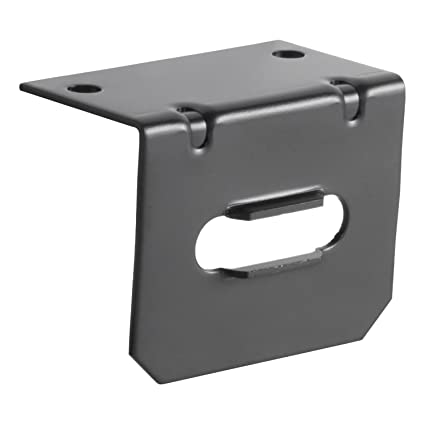 amazon com curt 58300 4 flat connector mounting bracket automotive