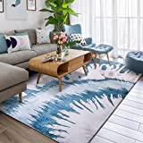 Decorative rugs modern carpet rectangle mats for bedroom living room study simple nordic restaurant bedside blanket-A 120x180cm(47x71inch)