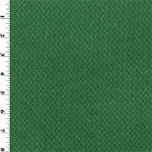 Polartec Curly Fleece - Green, Fabric By the Yard (Curly Fabric Fleece)