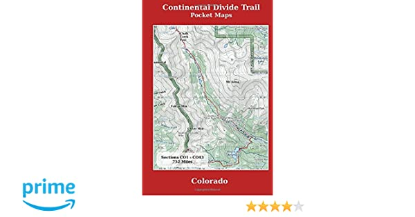 Continental Divide Trail Pocket Maps - Colorado: K Scott