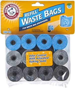180-Pack Arm & Hammer Disposable Waste Bag Refills