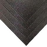 Kydex V Plastic Sheet .093' x 12' x 12' - Calcutta Black (4 Pack)