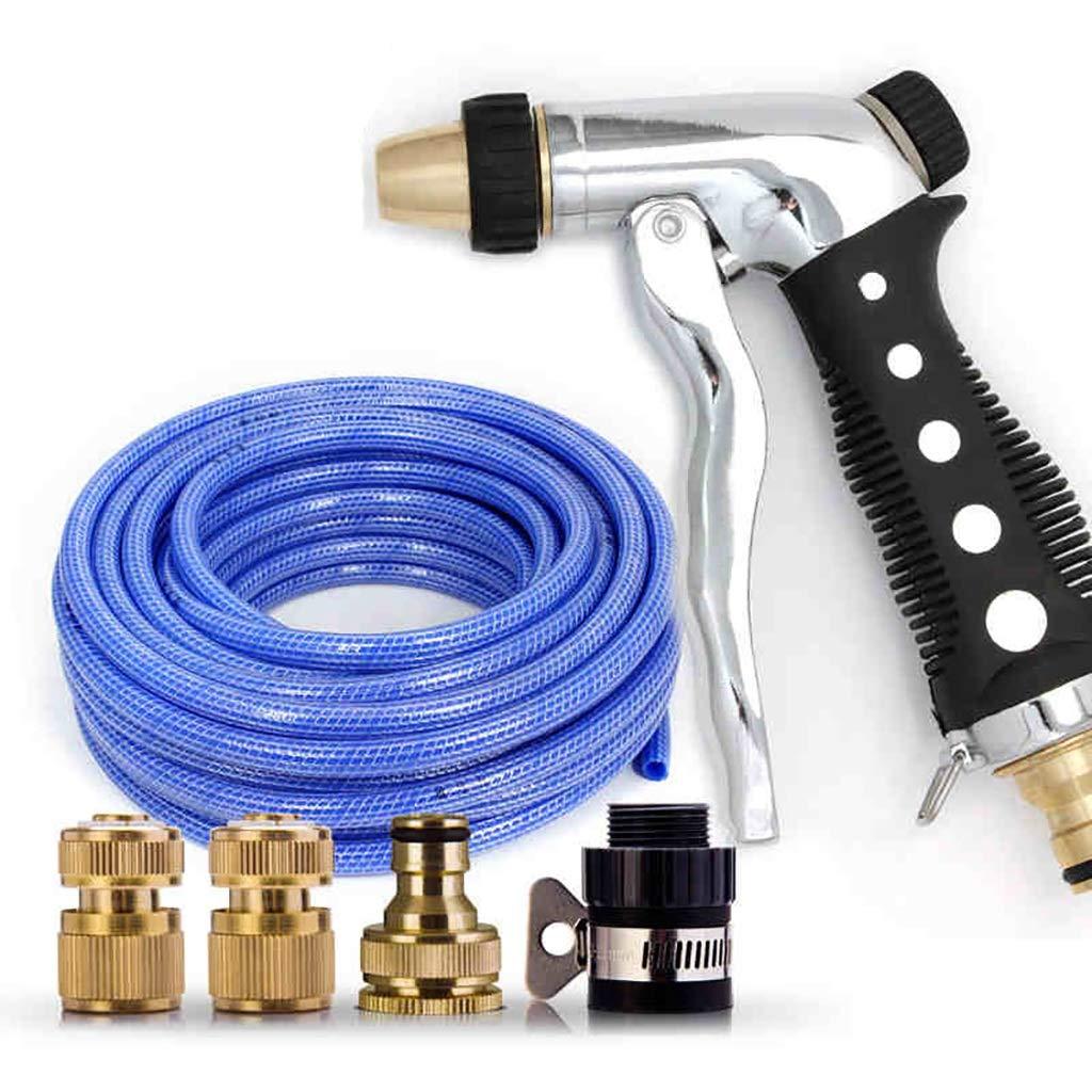 Autolavaggio acqua pistola vestito afferrare rame ad alta pressione auto pennello auto casa irrigazione artefatto multi-funzione ugello tubo di acqua strumento ( dimensioni   25m )
