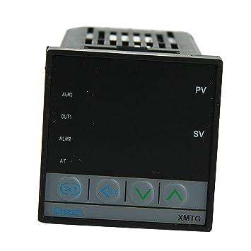 MagiDeal Termómetro Digital de Regulador Control Temperatura PID Dual 220v XMTG: Amazon.es: Coche y moto