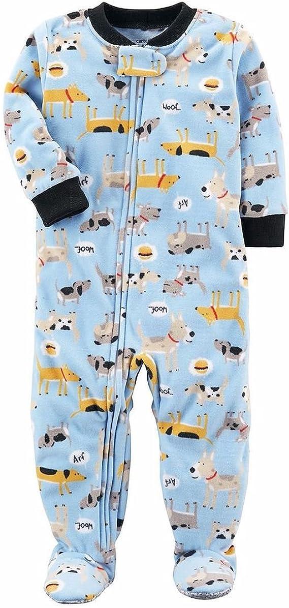 Carters Little Girls Print Fleece Footie Toddler//Kid Fair Isle