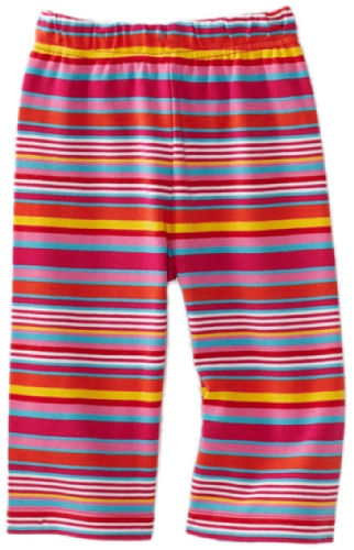Zutano Baby Girls' Multi Stripe Pant