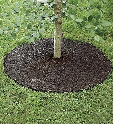 "Permanent Mulch Tree Ring, 36"" dia."