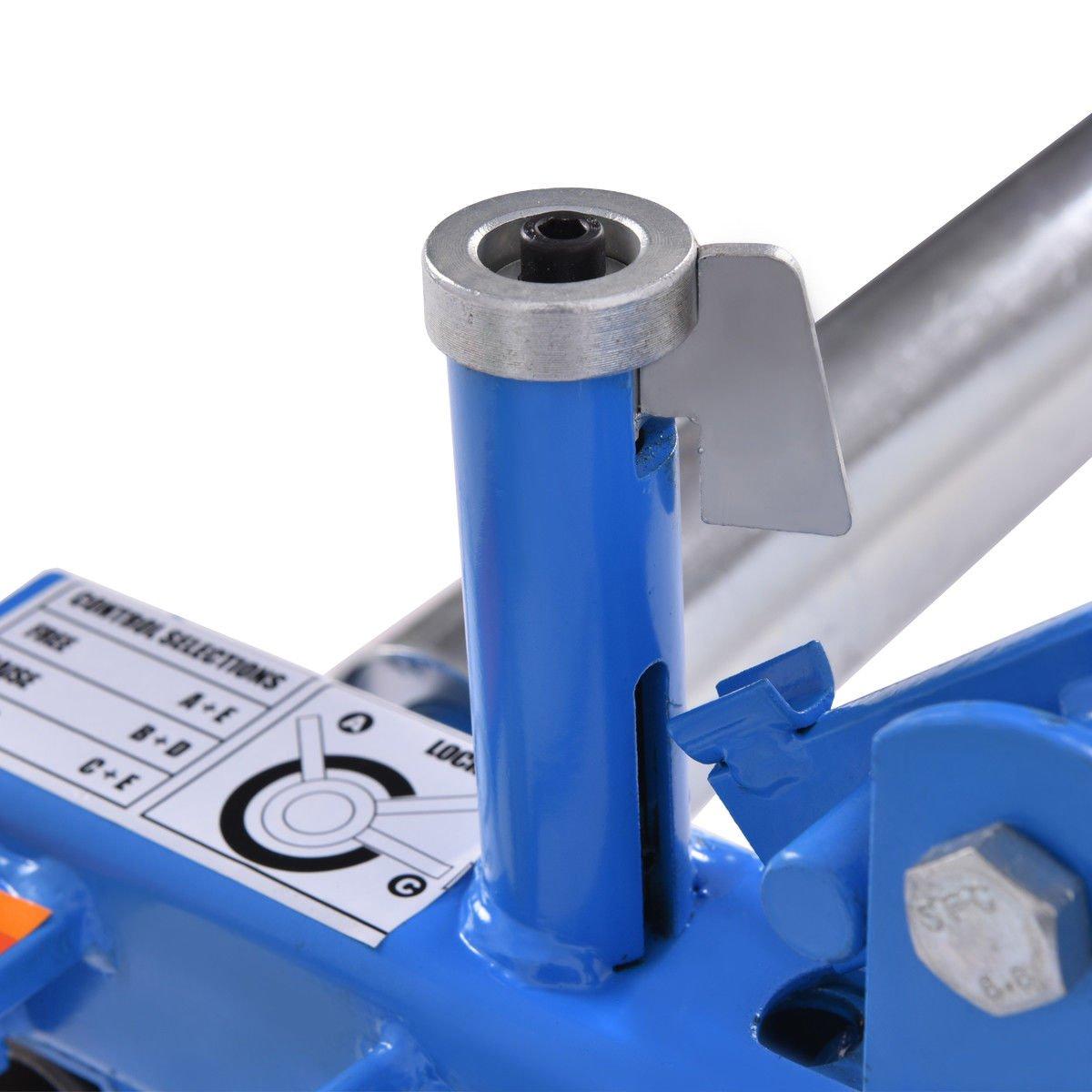 Goplus Wheel Dolly Car Skates Vehicle Positioning Hydraulic Tire Jack, 1250 lb (Blue) by Goplus (Image #7)