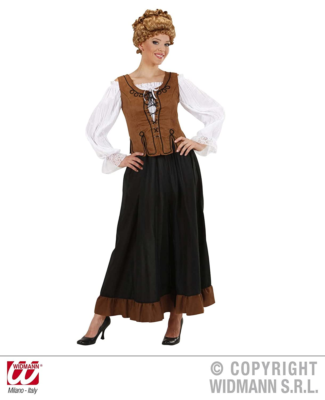 Widmann 8958C - Bauern-Kostüm für Damen, Größe XL