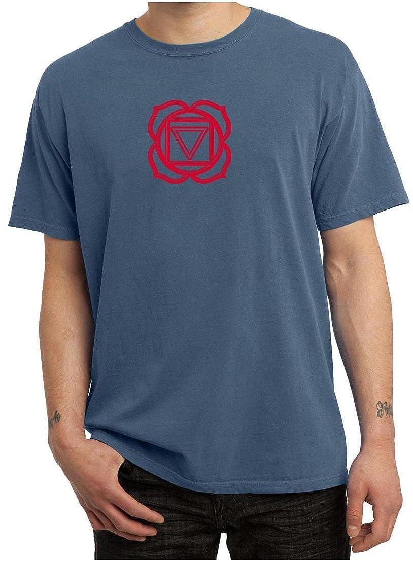 Amazon.com: A&E Designs Mens Yoga T-Shirt - Muladhara Root ...