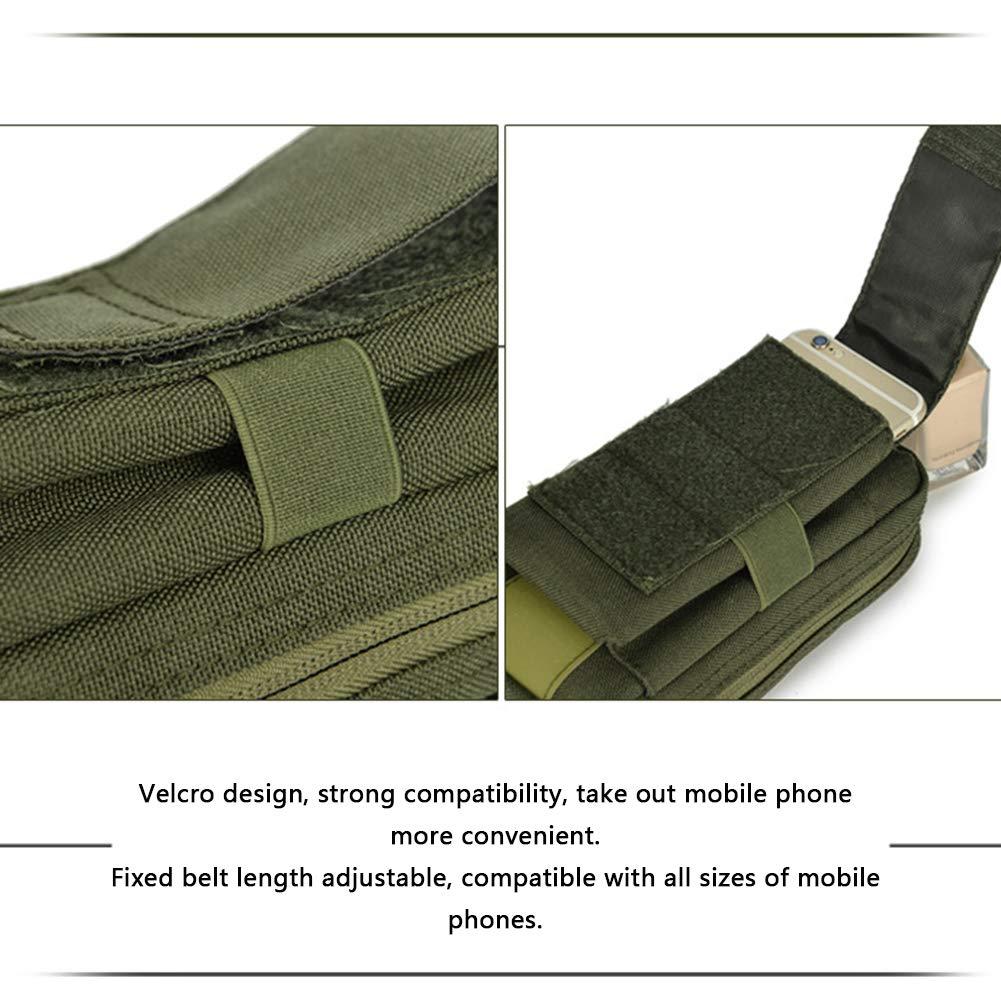 57cf8d7a470f Amazon.com: LAIABOR Travel Waist Bag Bum Bag Multifunctional Outdoor ...