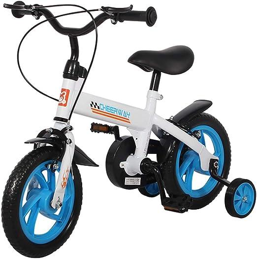 GAIQIN Durable Bicicleta para niños Bicicleta 2-4-6 años de Edad ...