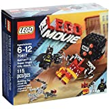 LEGO Movie Batman and Super Angry Kitty Attack Block