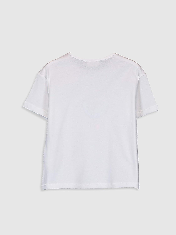 LC WAIKI scollo rotondo Maglietta a maniche corte da ragazza con stampa