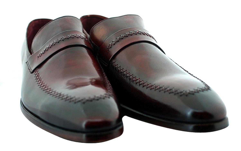 Bordo Parisian Men's Luxury Classic Handmade Leather Shoes